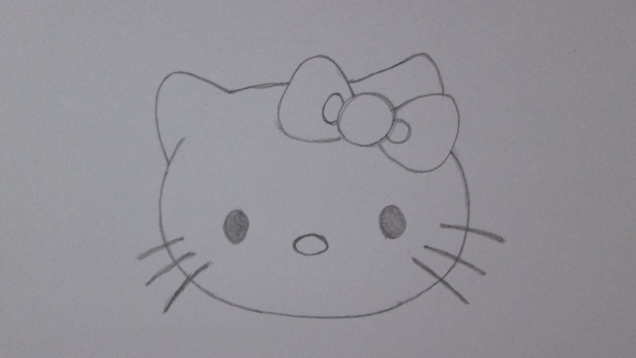 Como Desenhar A Hello Kitty