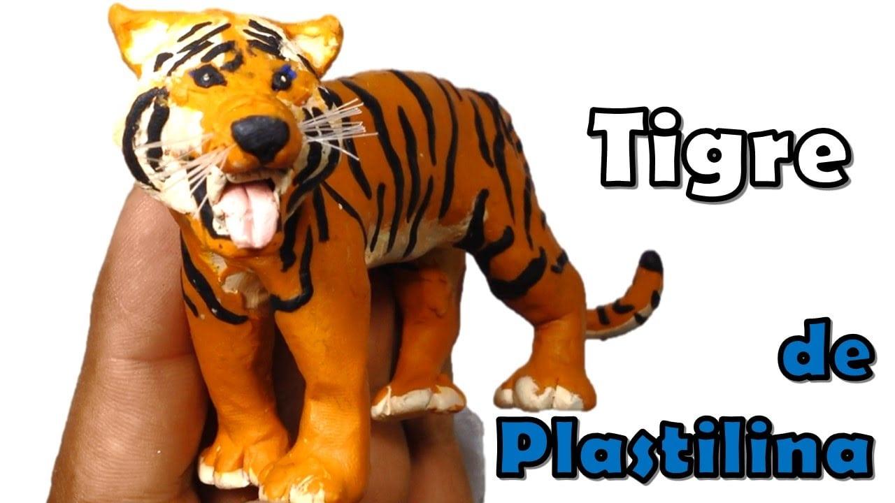 ✅ Como Hacer Un Tigre De Plastilina Paso A Paso ✅ Mi Mundo De