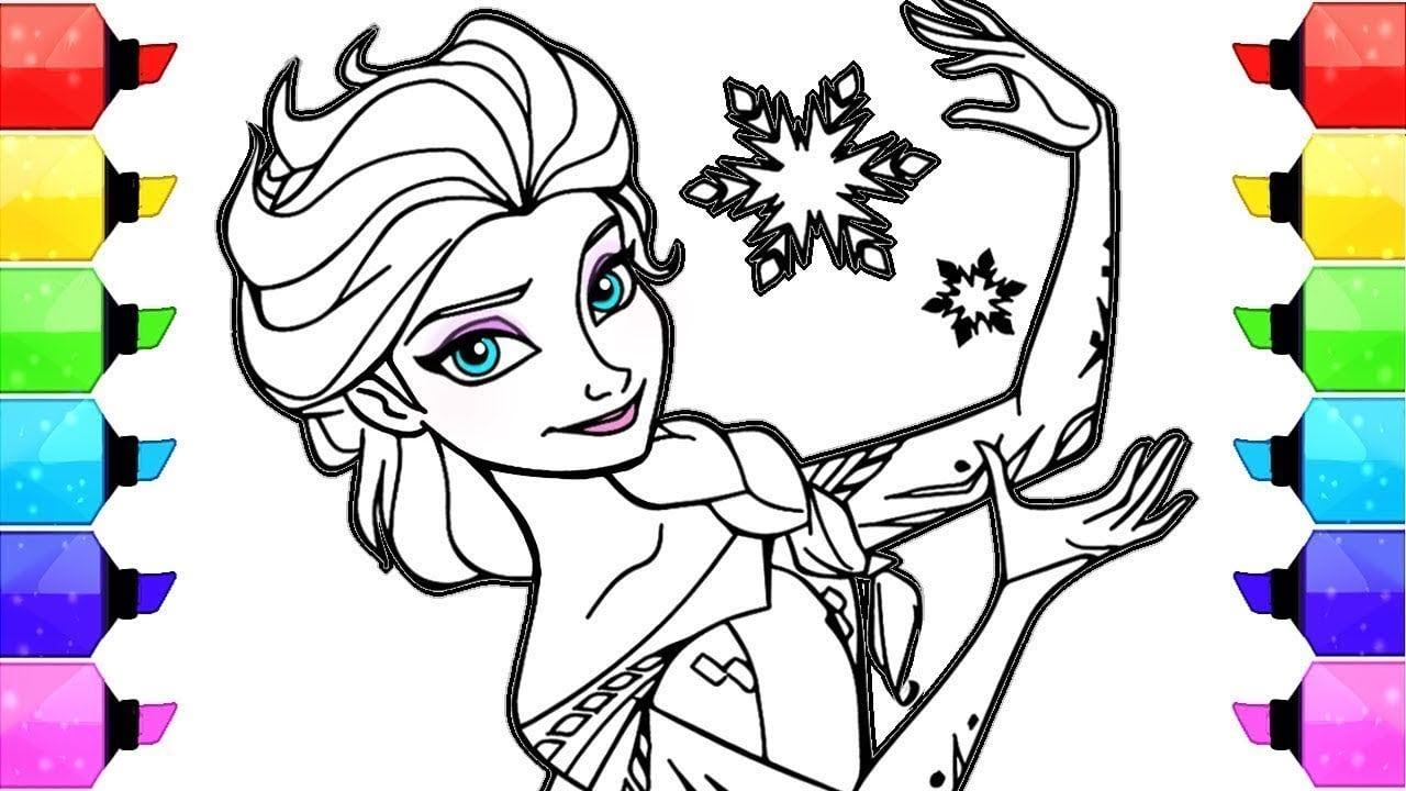 Desenhos Para Colorir Elsa Frozen Disney Colorindo Desenhos
