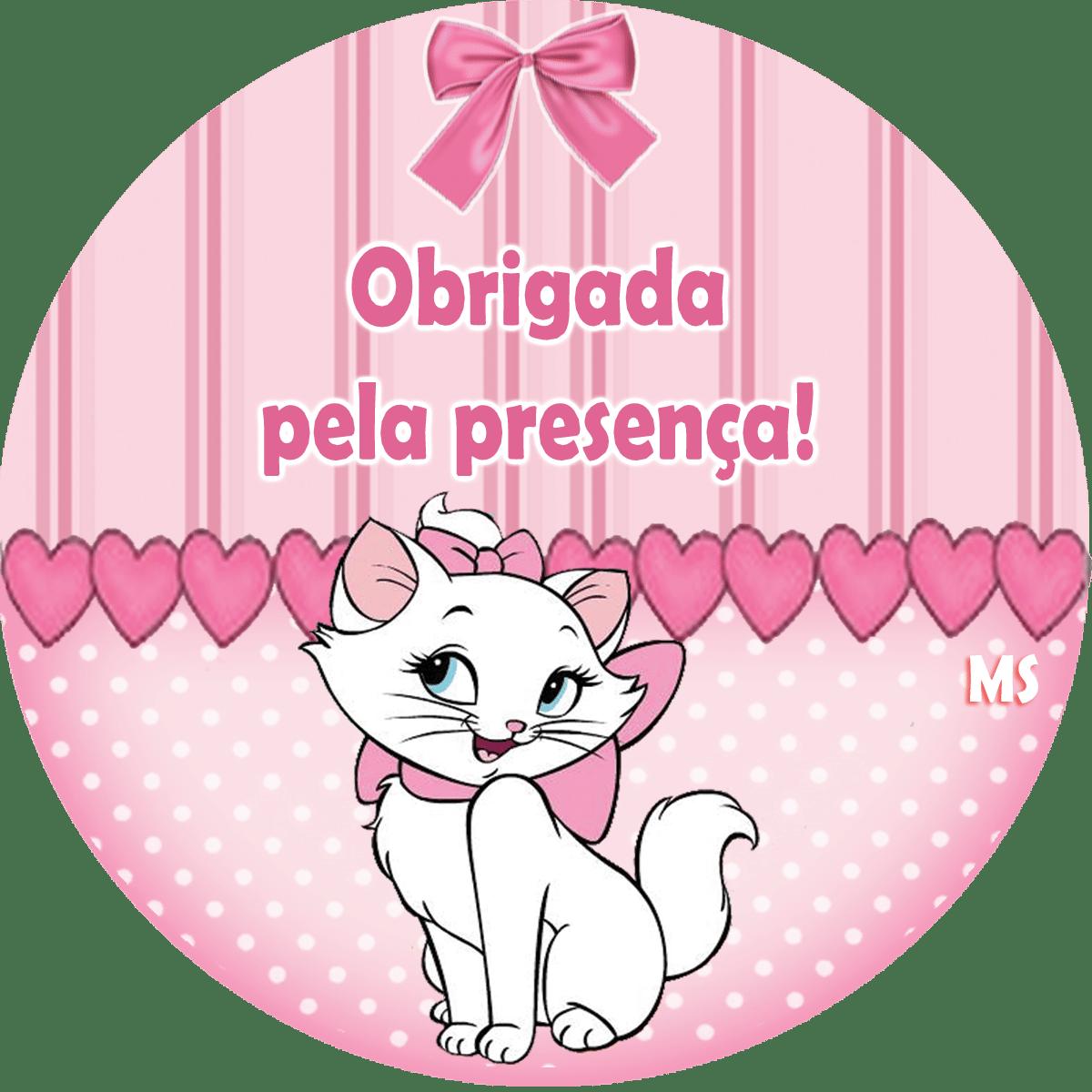 Gatinha Marie Para Imprimir – Pampekids Net