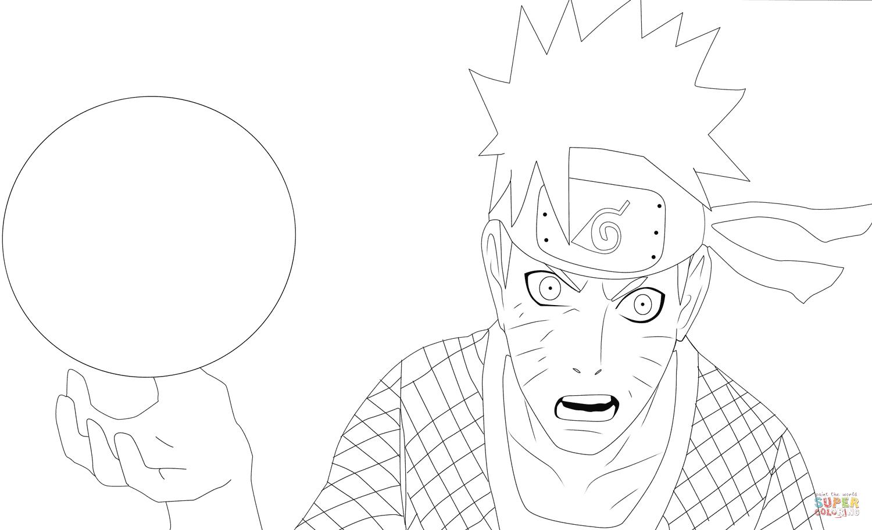 Desenho De Naruto 697 Para Colorir