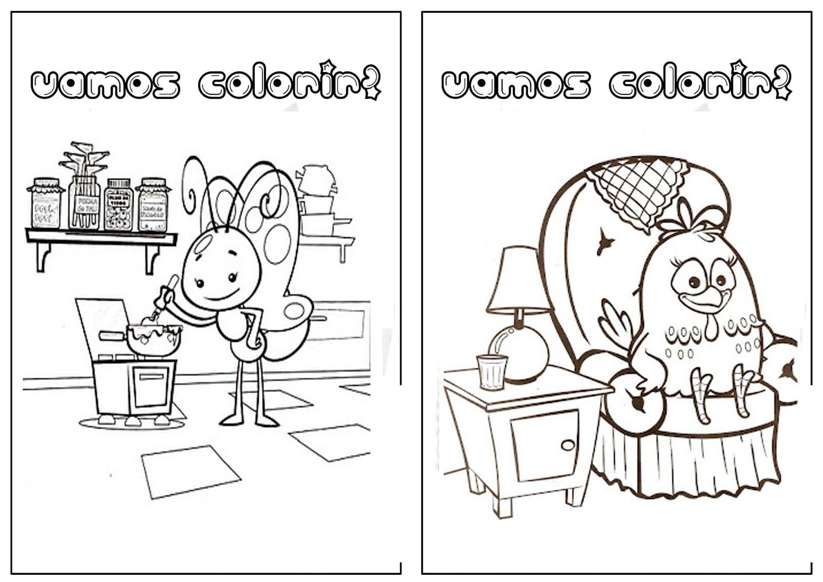 Center Livro De Colorir Galinha Pintadinha  Center
