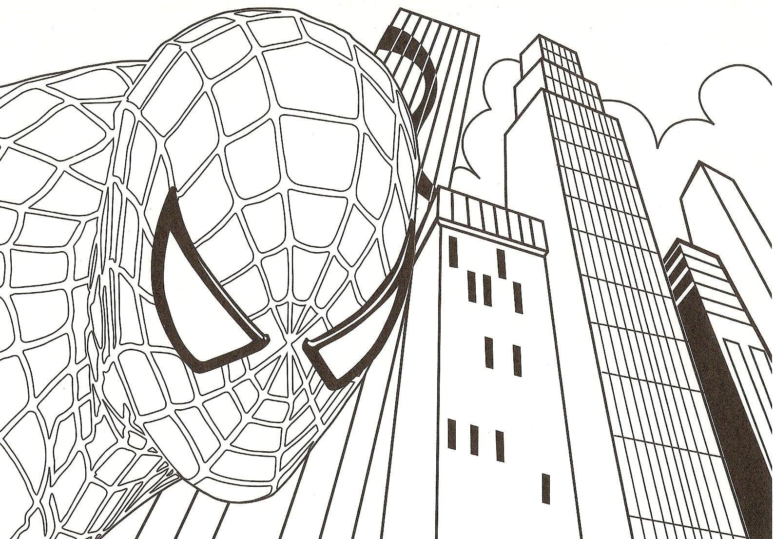 Pintura Do Homem Aranha