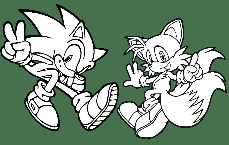 Jogo Pinte Sonic E Tails No Jogos 360