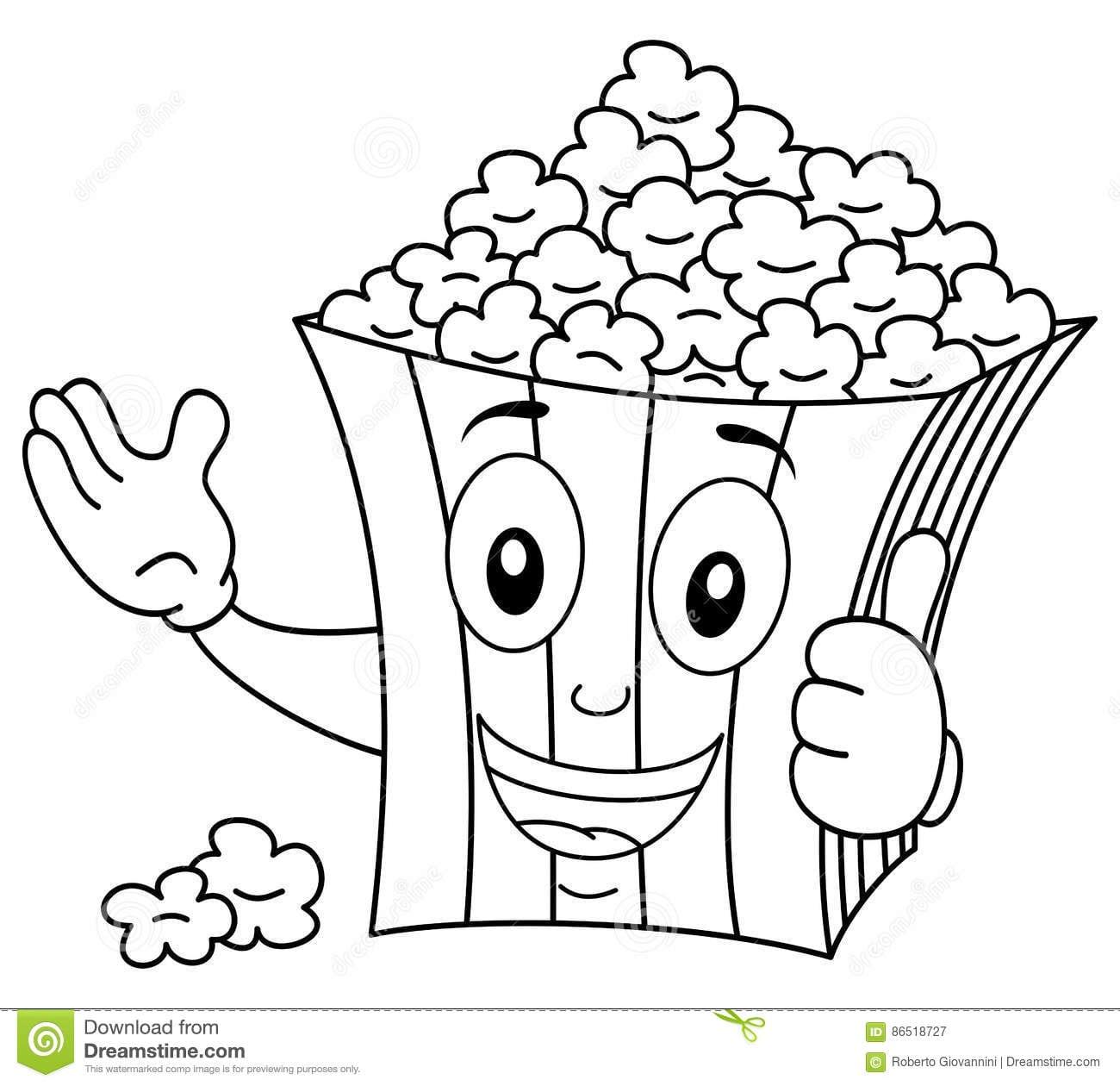 Popcorn Bilder Zum Ausdrucken - Free Vector Download