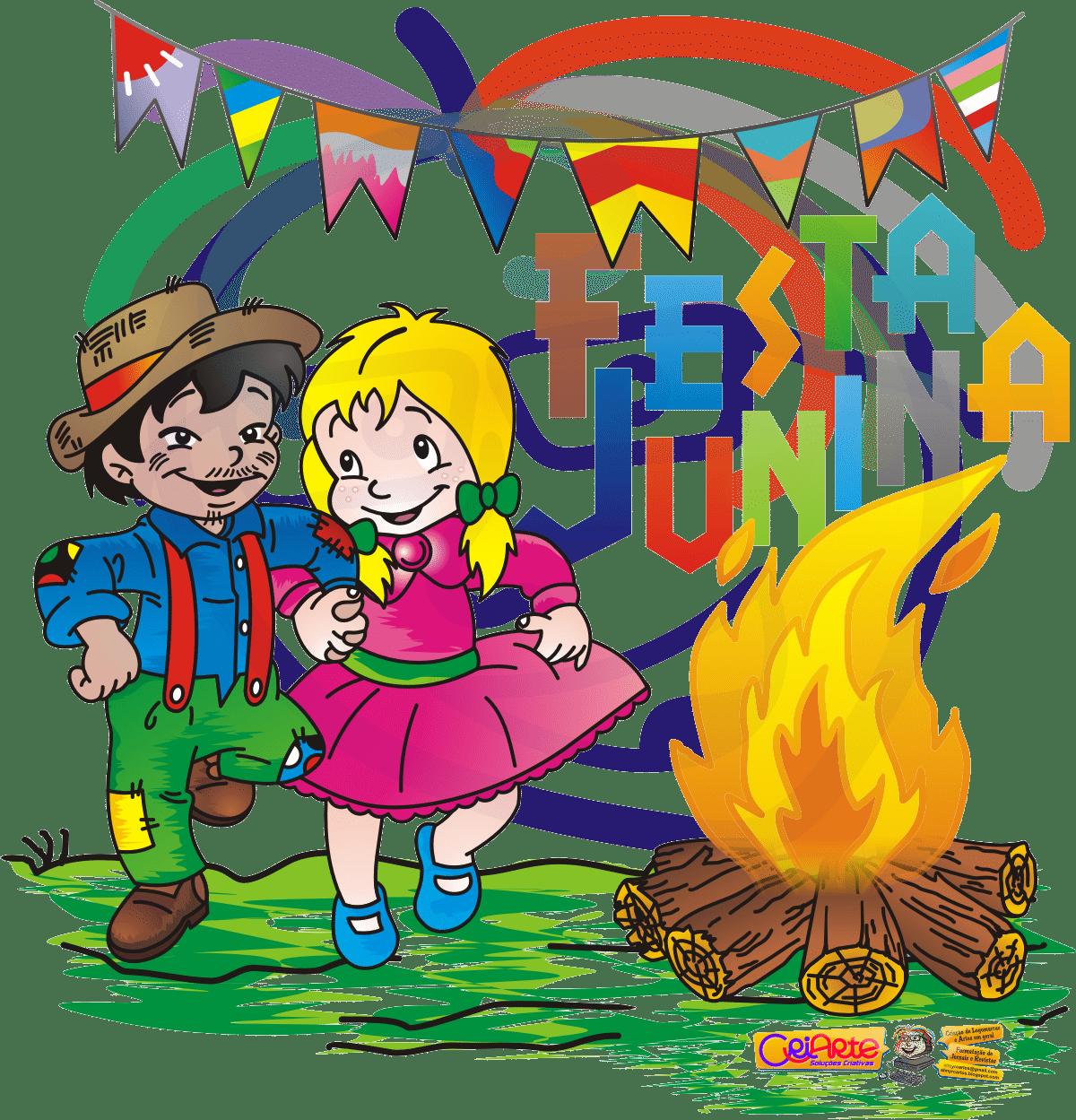 Figuras E Desenhos Coloridos De Festa Junina Para Imprimir