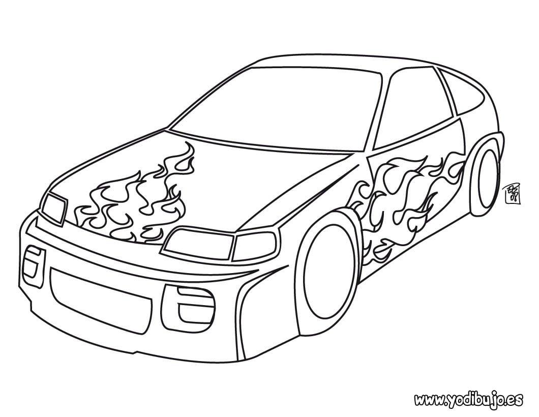 Dibujos Para Pintar Autos – Dibujos Para Pintar