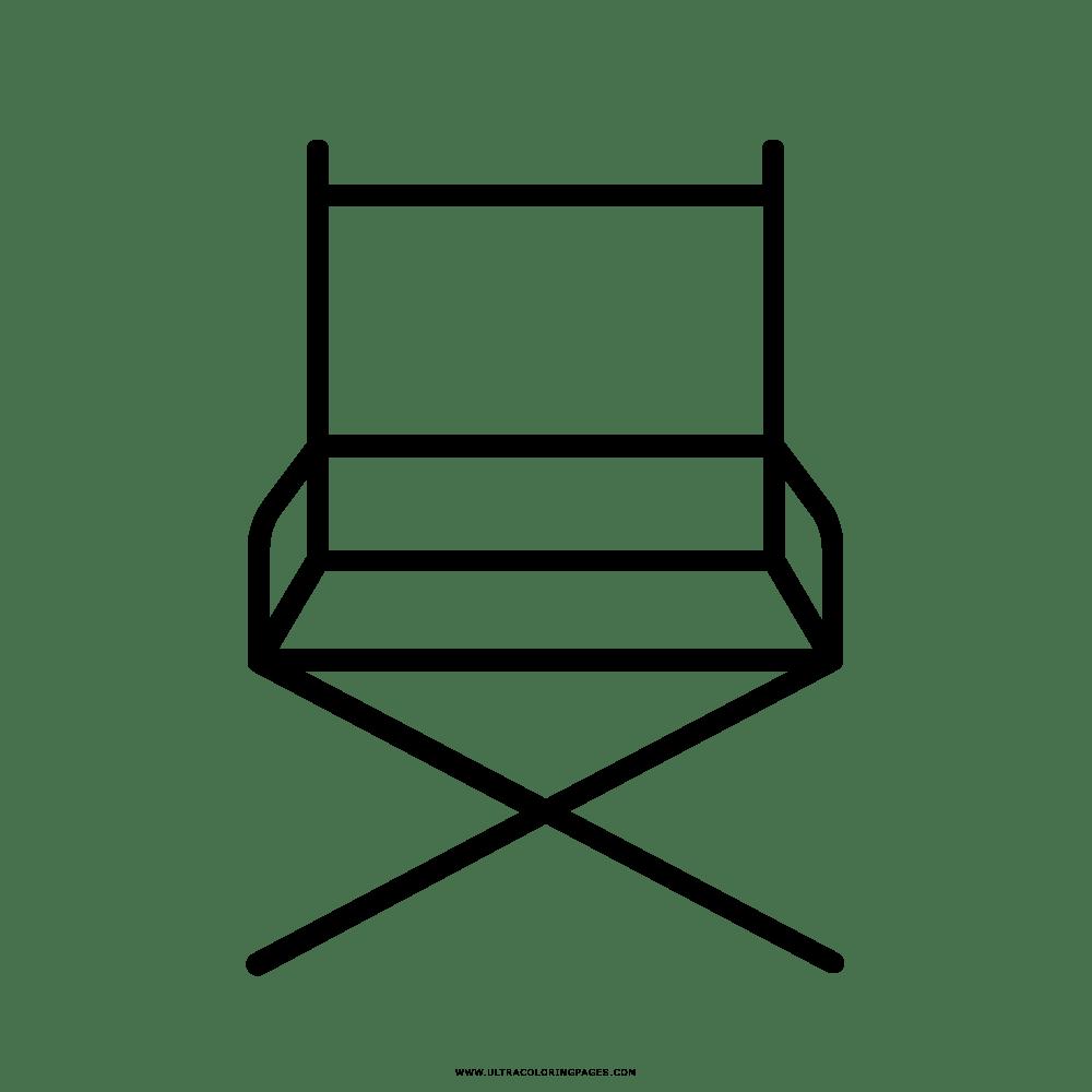 Cadeira Do Diretor Desenho Para Colorir