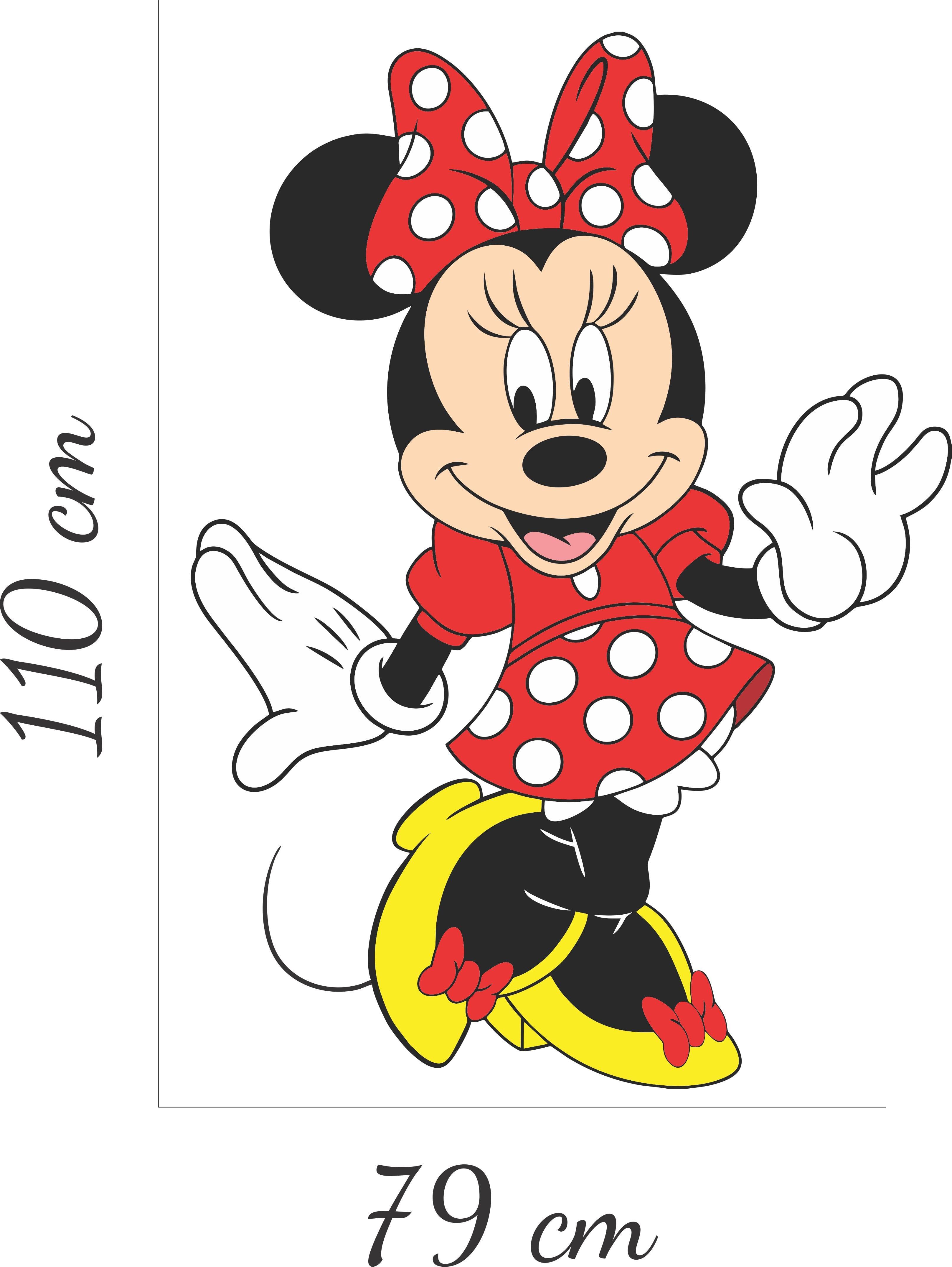 Adesivo Parede Minnie Mouse Desenho