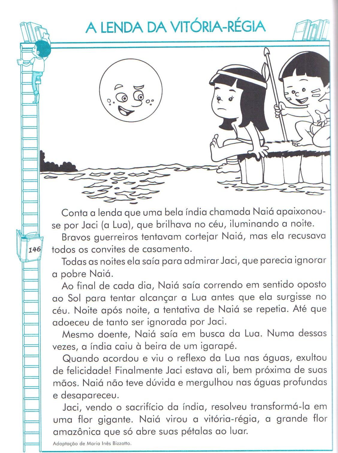 Rita & Frank  Colorir E Pintar A Lenda Da VitÓria RÉgia