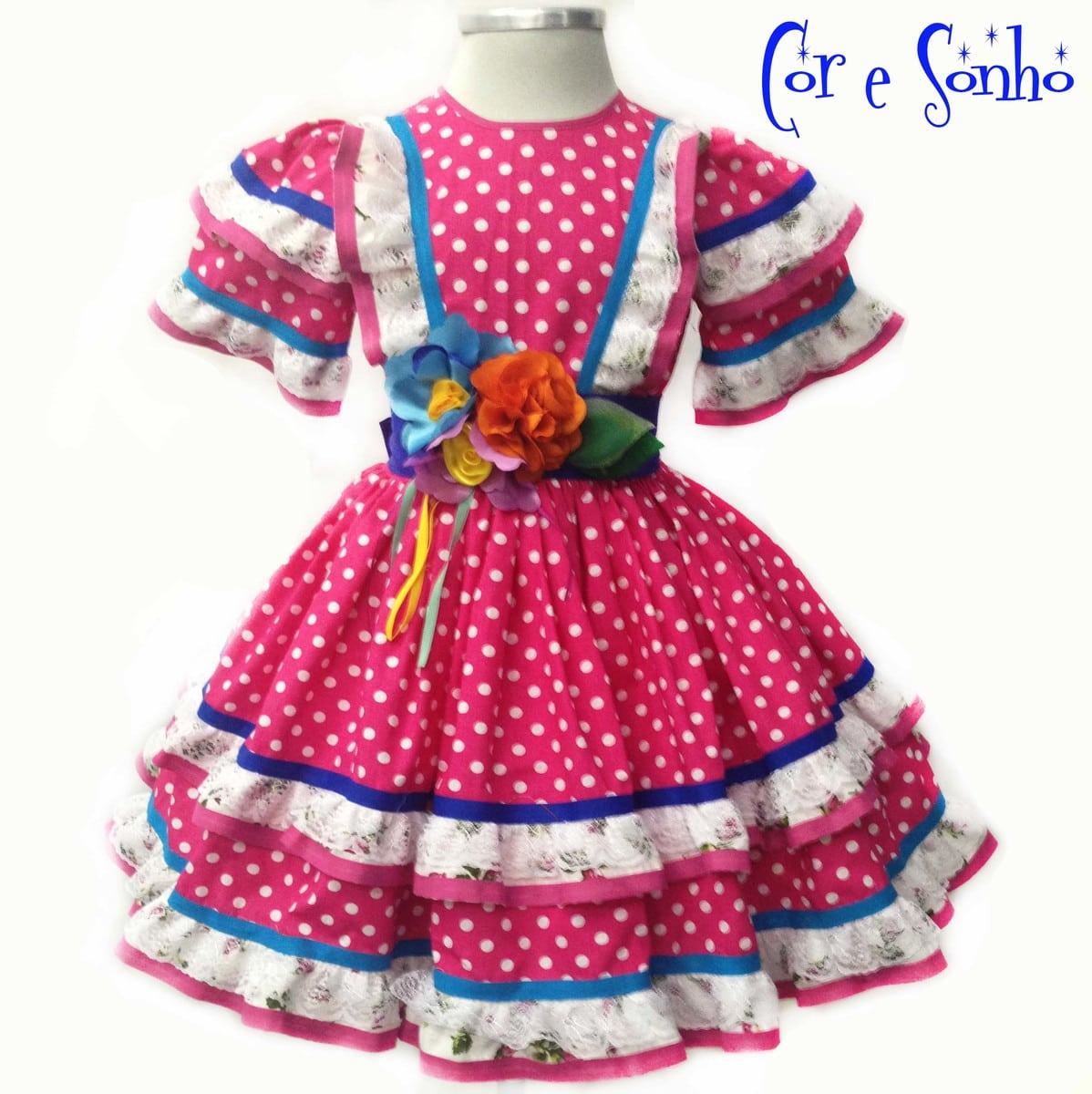 Vestido De Quadrilha Festa Junina