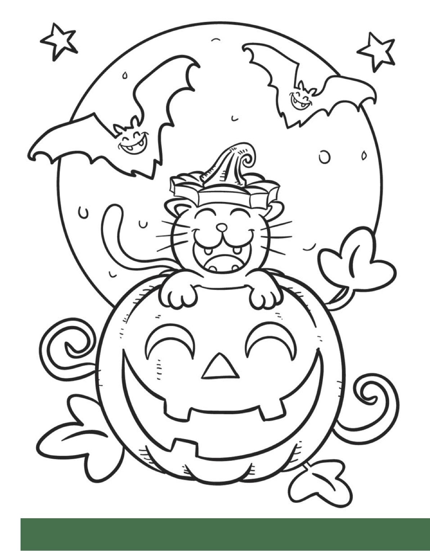 Partilho Aqui Uns Desenhos Para Pintar No Halloween  Podem Fazer O