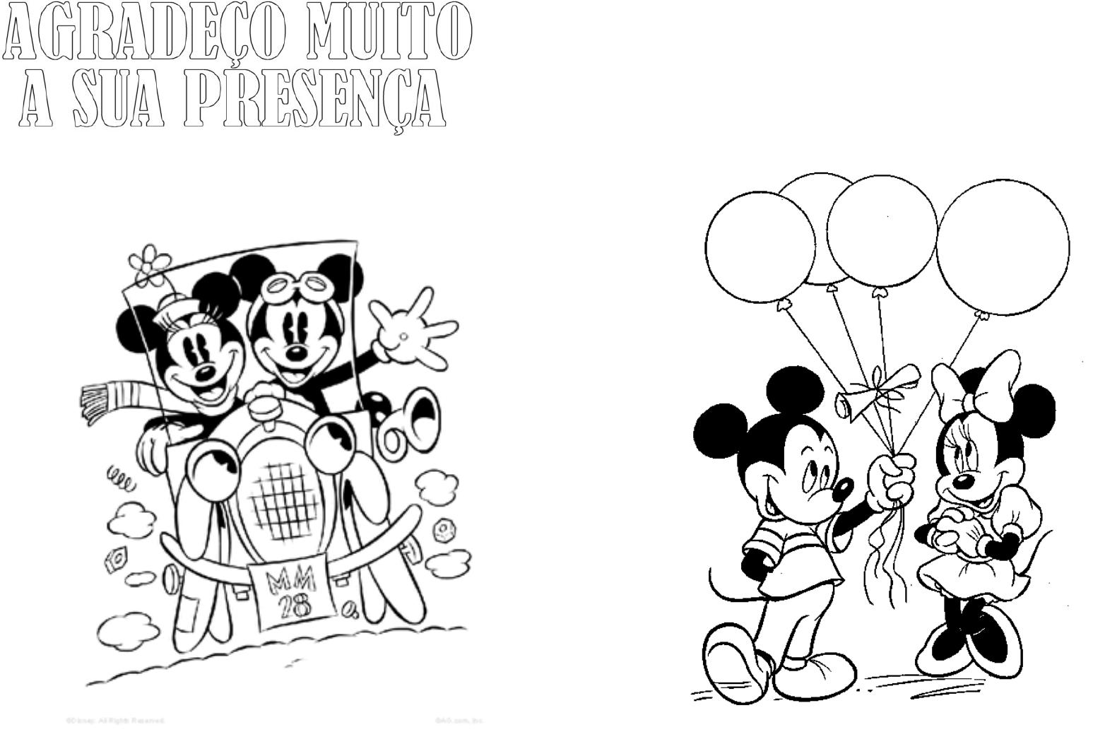 Desenhos Mickey E Minnie Para Imprimir Minnie Para Colorir