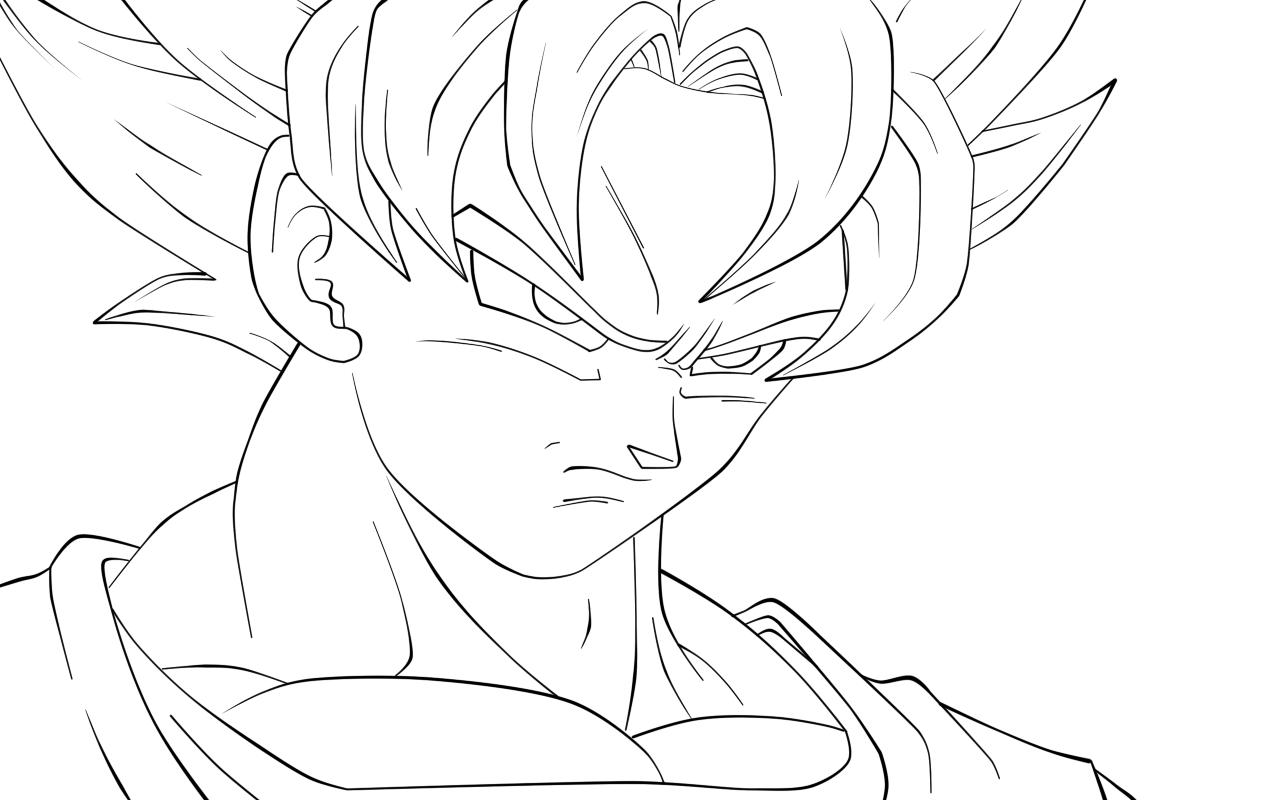 Resultado De Imagem Para Desenho Para Colorir Do Goku