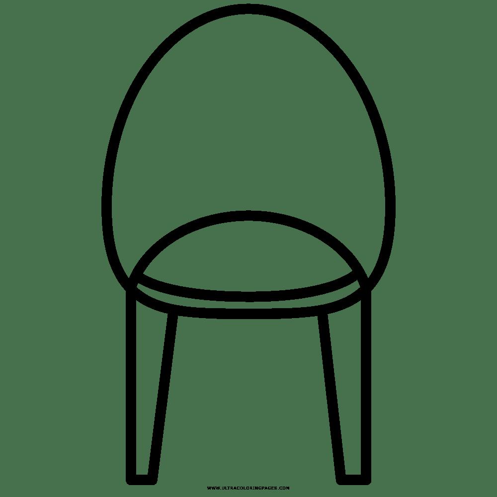 Cadeira Desenho Para Colorir
