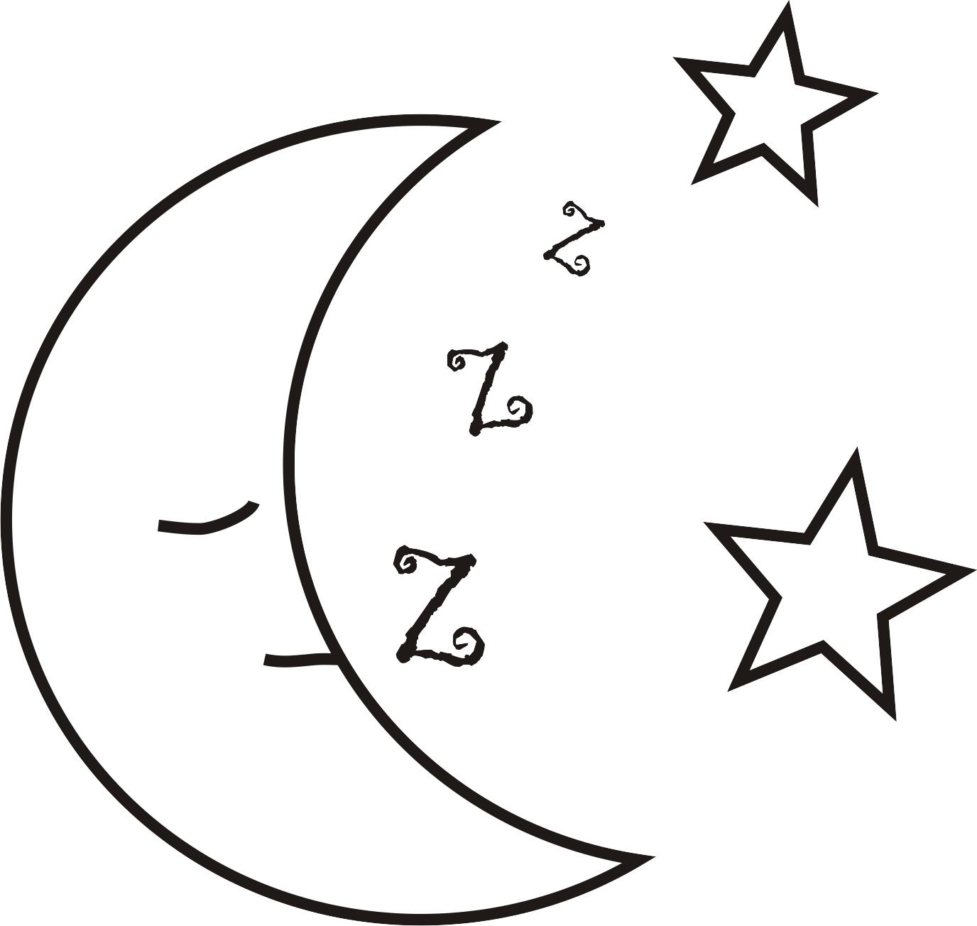 Colorir Lua – Pampekids Net