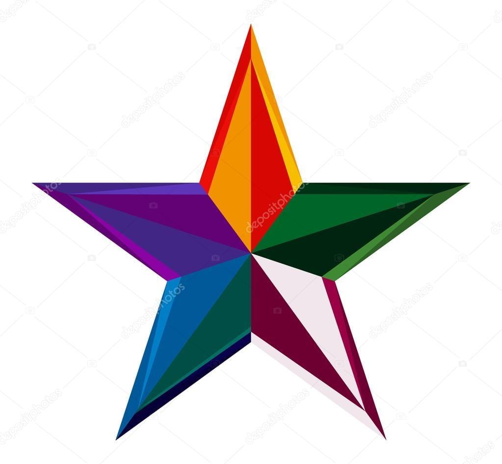 Desenhos De Estrelas Coloridas