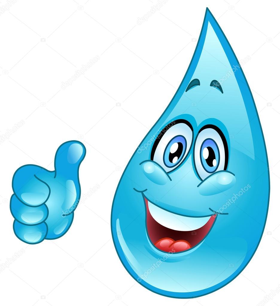 Desenho De Gota De água — Vetor De Stock © Yayayoyo  5080706