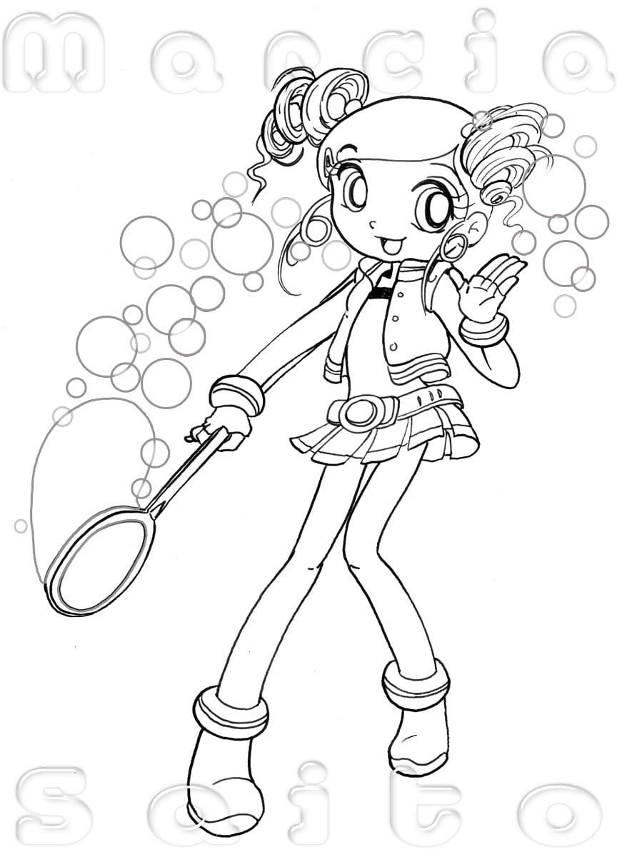 Desenho De Menina Para Imprimir