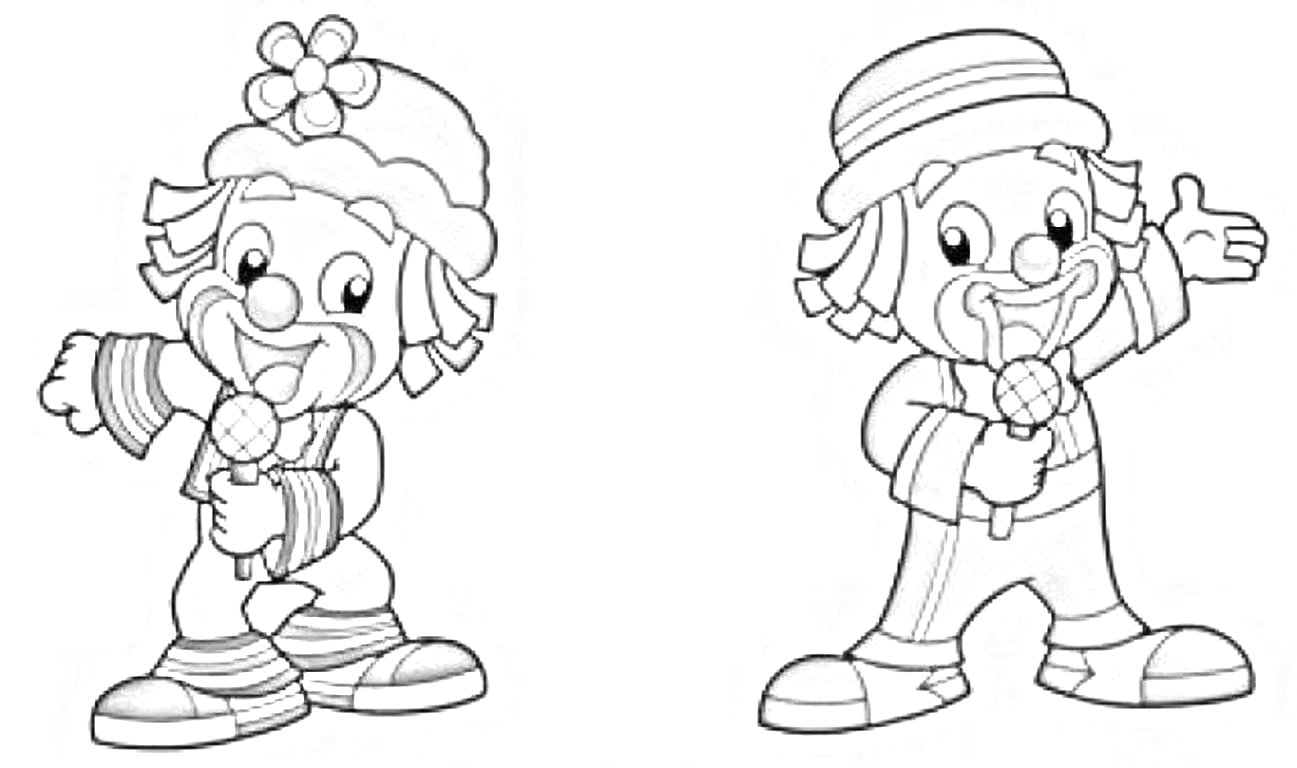 Desenhos Para Colorir Patati Patata Imprimir