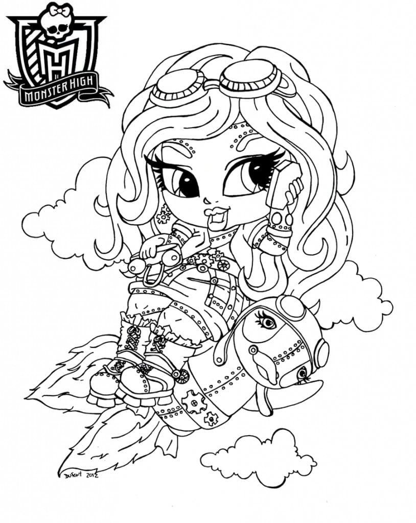 Desenhos Da Monster High Baby