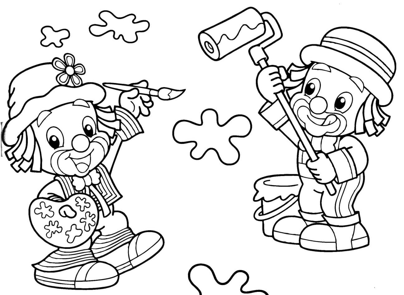 Desenhos Do Patati Patatá Para Colorir E Imprimir