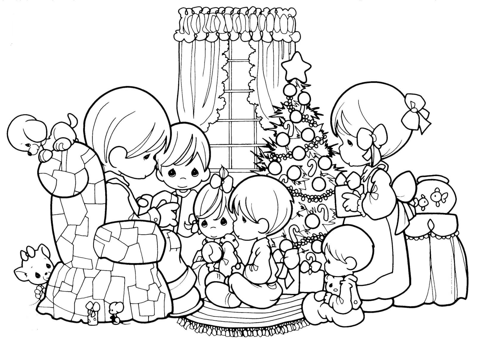 Desenhos Colorir Natal – Pampekids Net
