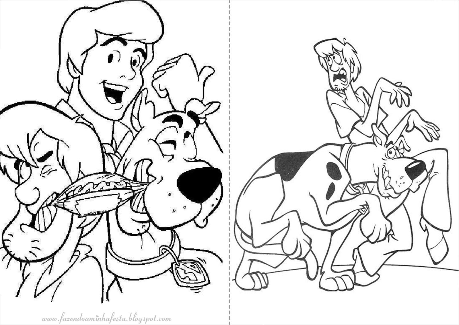 Desenho De Scooby