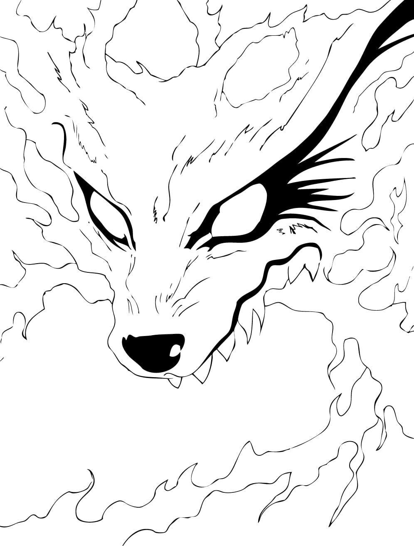 Desenhos Para Colorir Do Naruto  40 Opções Para Imprimir!