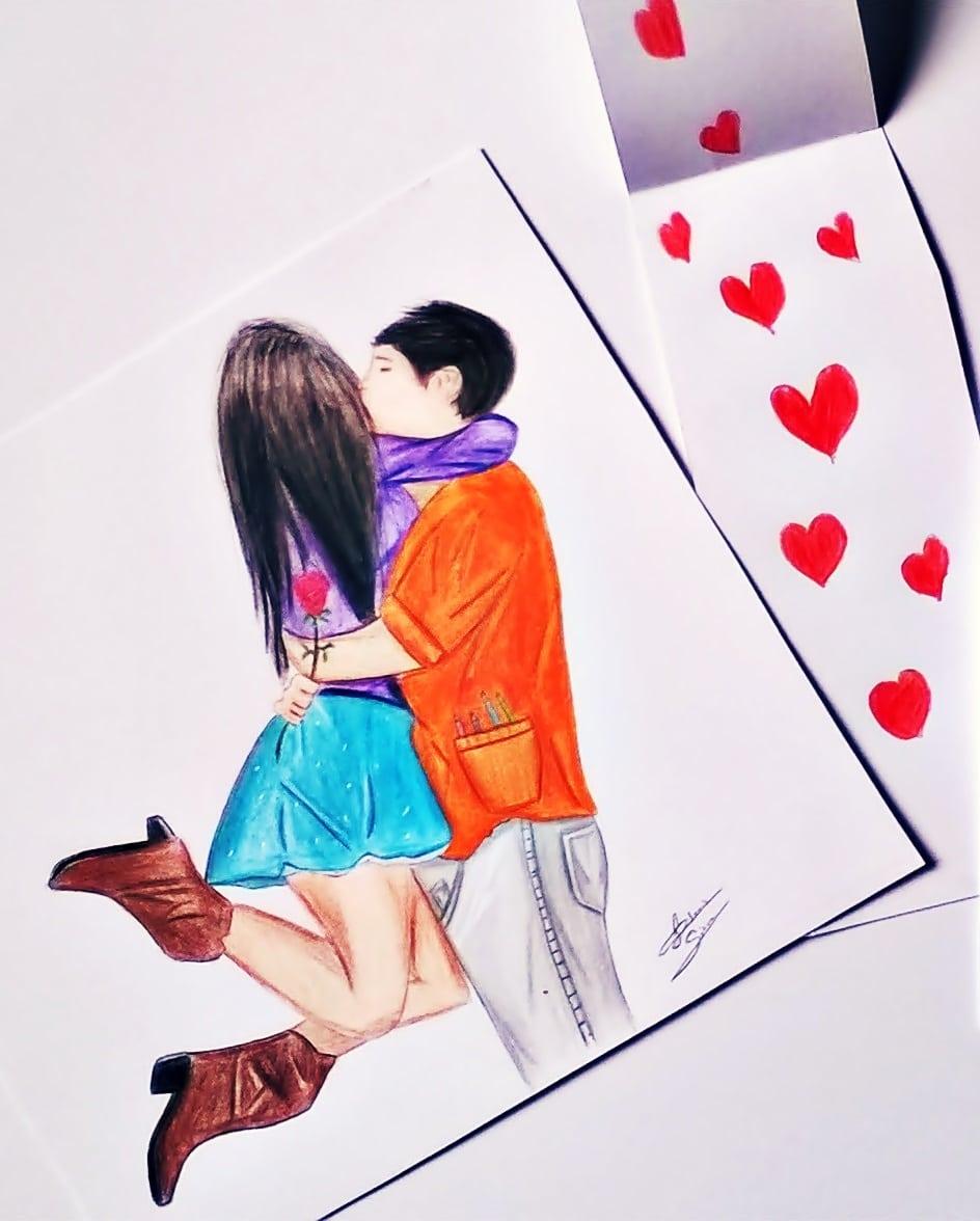 Desenhos De Namorados
