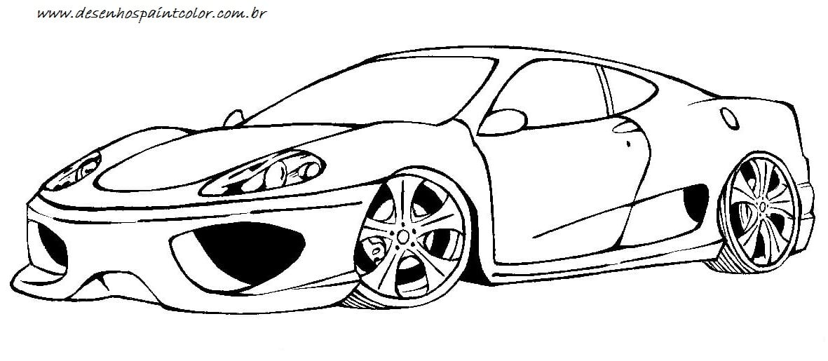 Carros Para Colorir Pictures To Pin On Coloring City
