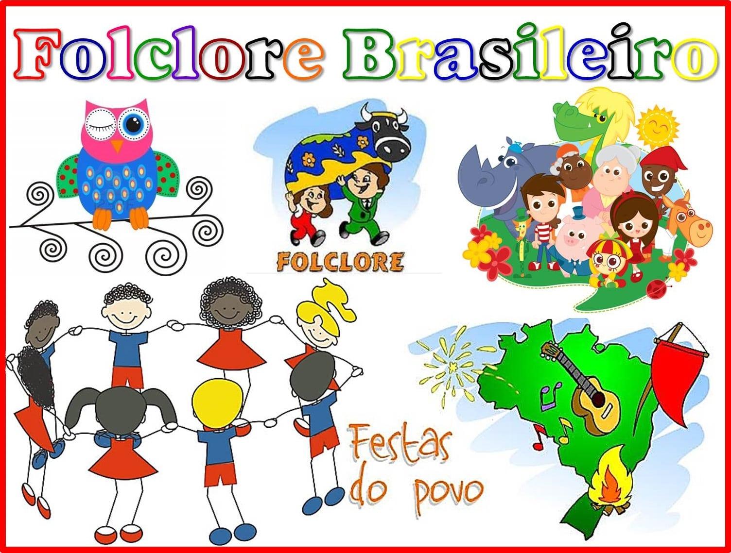 Imagens Folclore Brasileiro Para Imprimir