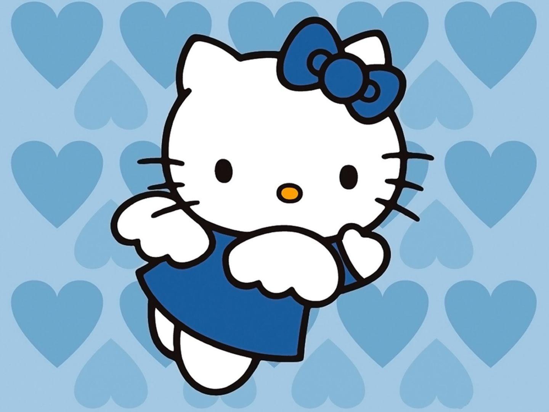 Hello Kitty Azul    Fotos E Imagens
