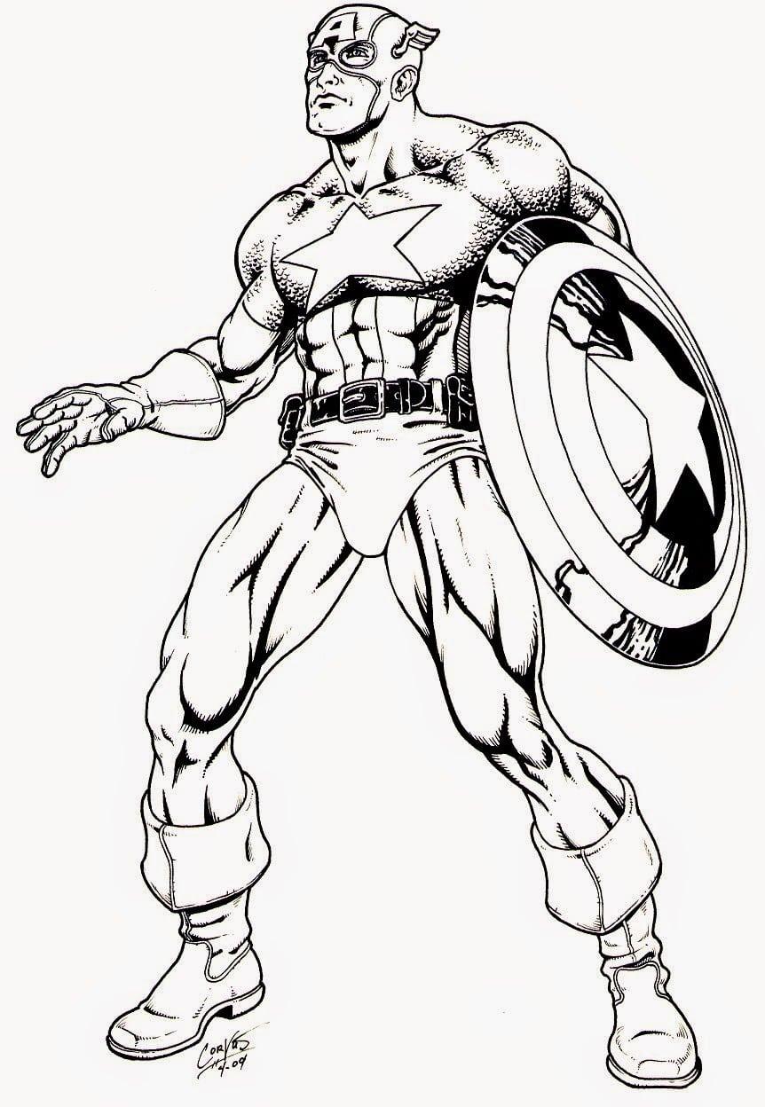 Super Herois Para Colorir