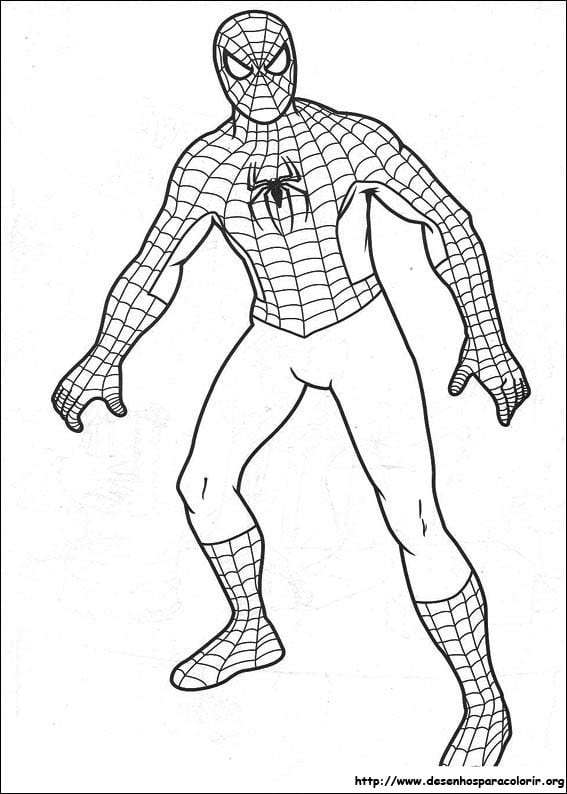 Desenhos Homem Aranha Pictures To Pin On Coloring City