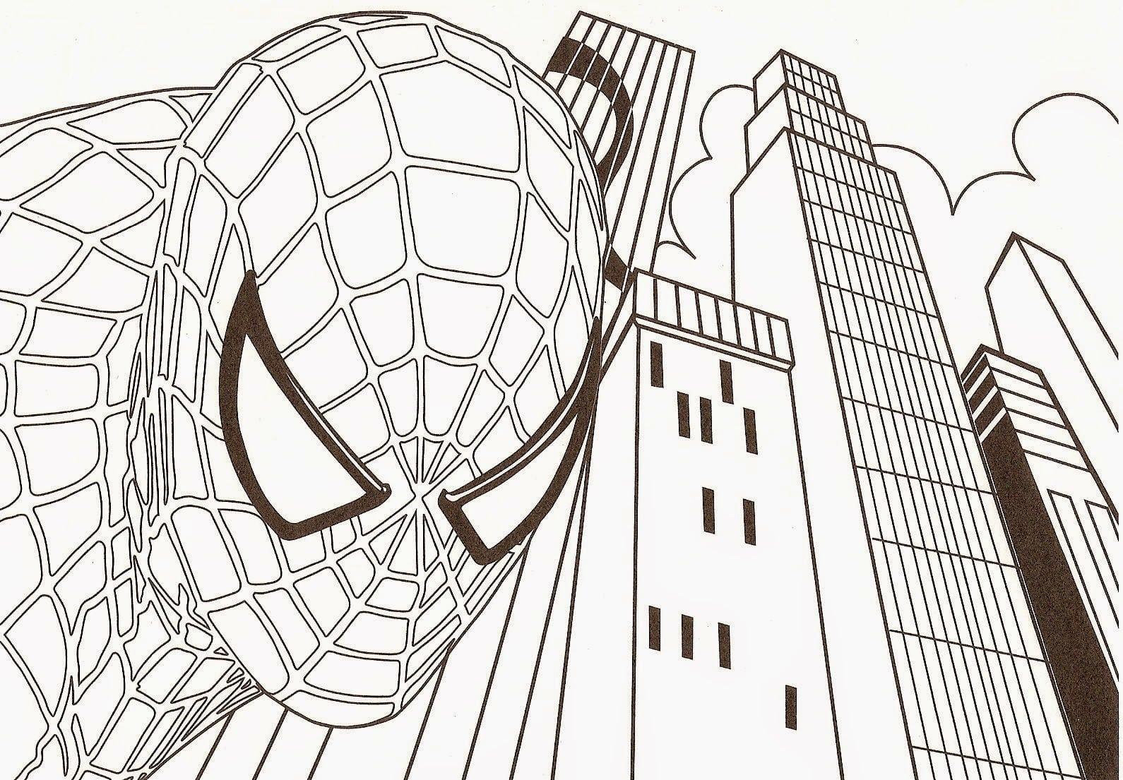 Desenhos Homem Aranha Para Colorir ~ Imagens Para Colorir