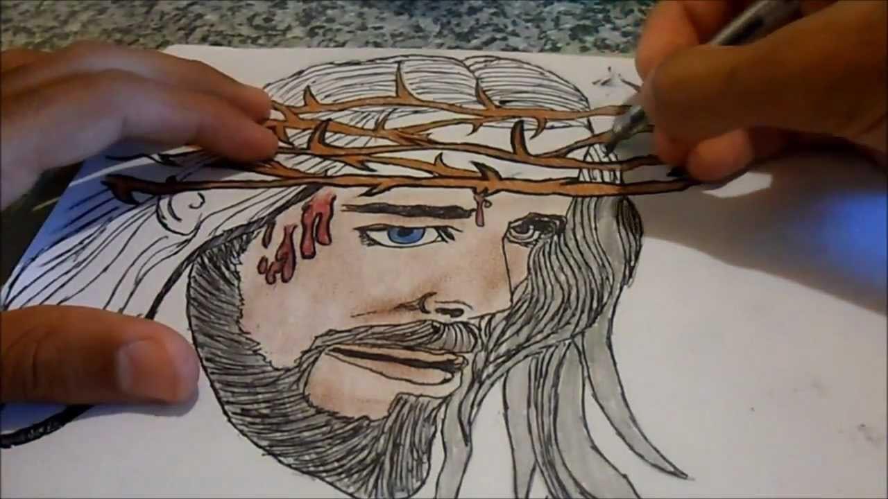Desenho Para Desenhar De Jesus