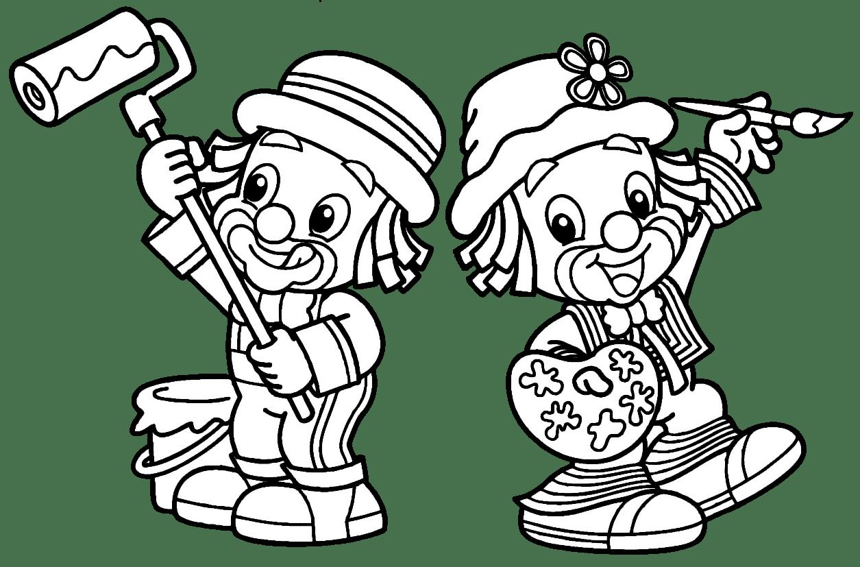 Desenhos Para Pintar Patati Patata
