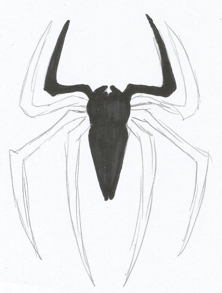 Como Desenhar O Homem Aranha – Logo Da Aranha