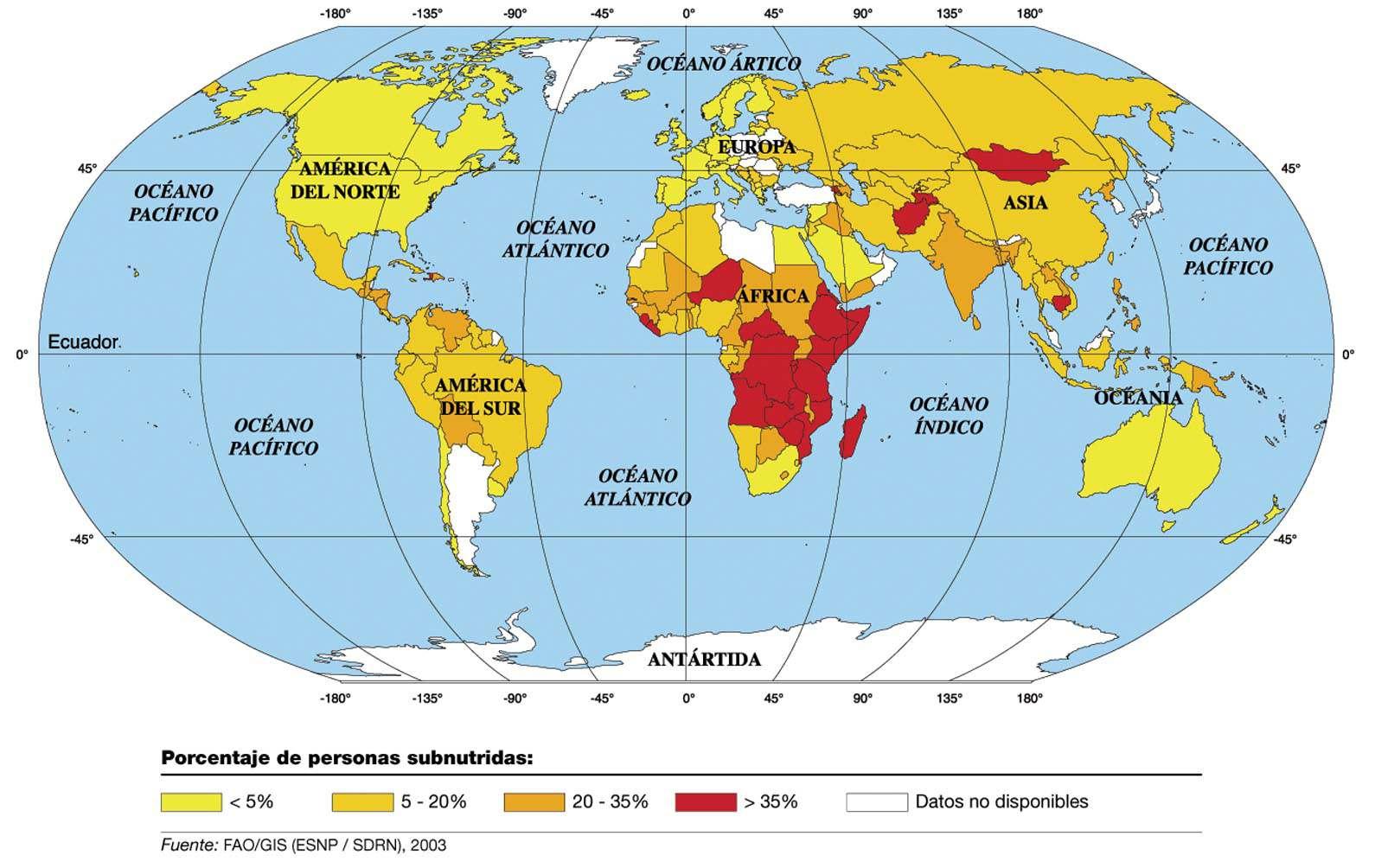 Mapa Múndi Para Imprimir  Continentes E Países