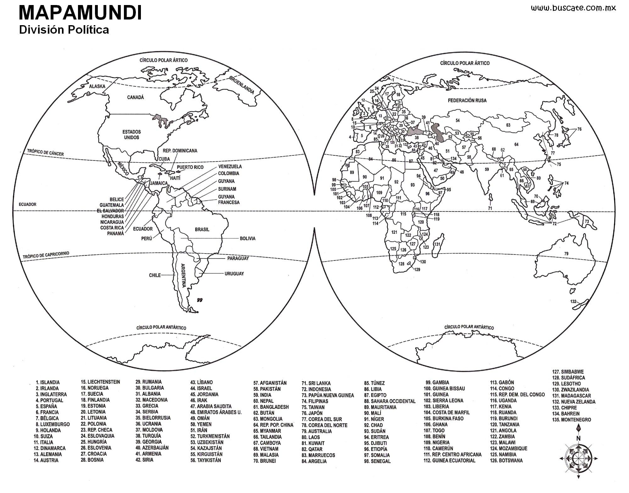 Photo Collection Mapamundi Para Imprimir Tamano