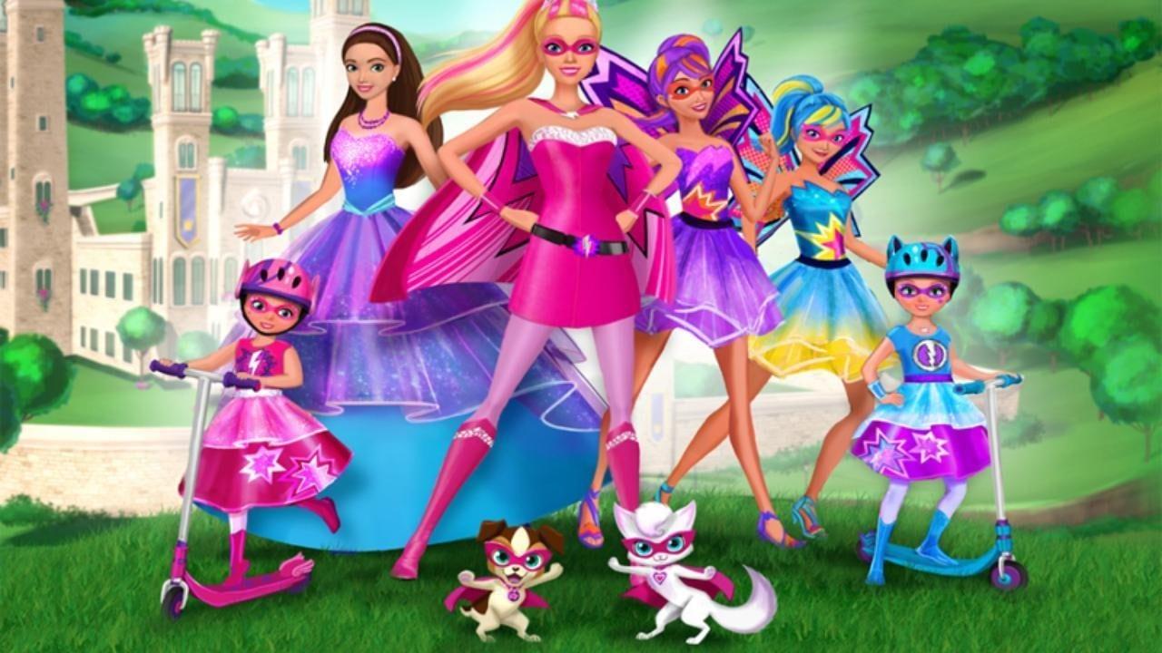 Barbie Em Super Princesa Dublado Desenhos Animados Em Portugues