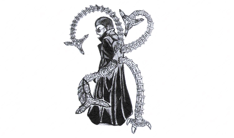 Como Desenhar O Doutor Octopus Do Homem Aranha (dr )