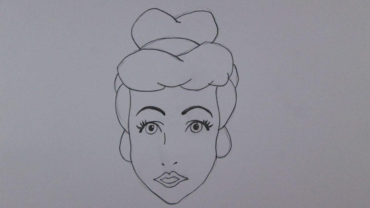 Como Desenhar A Cinderela