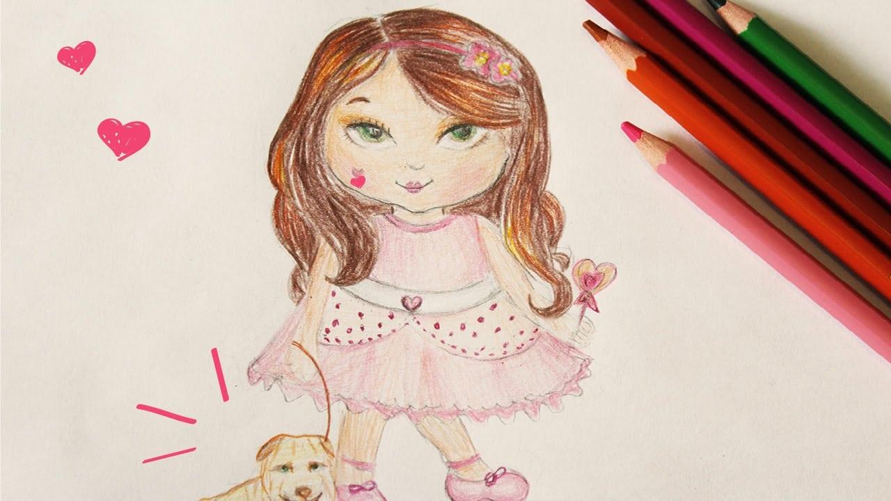 Desenhos Fáceis De Desenhar  Jolie