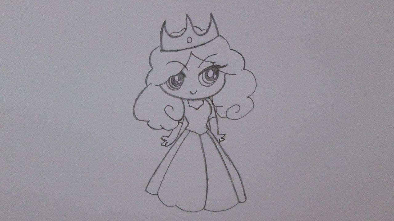 Como Desenhar Uma Princesa