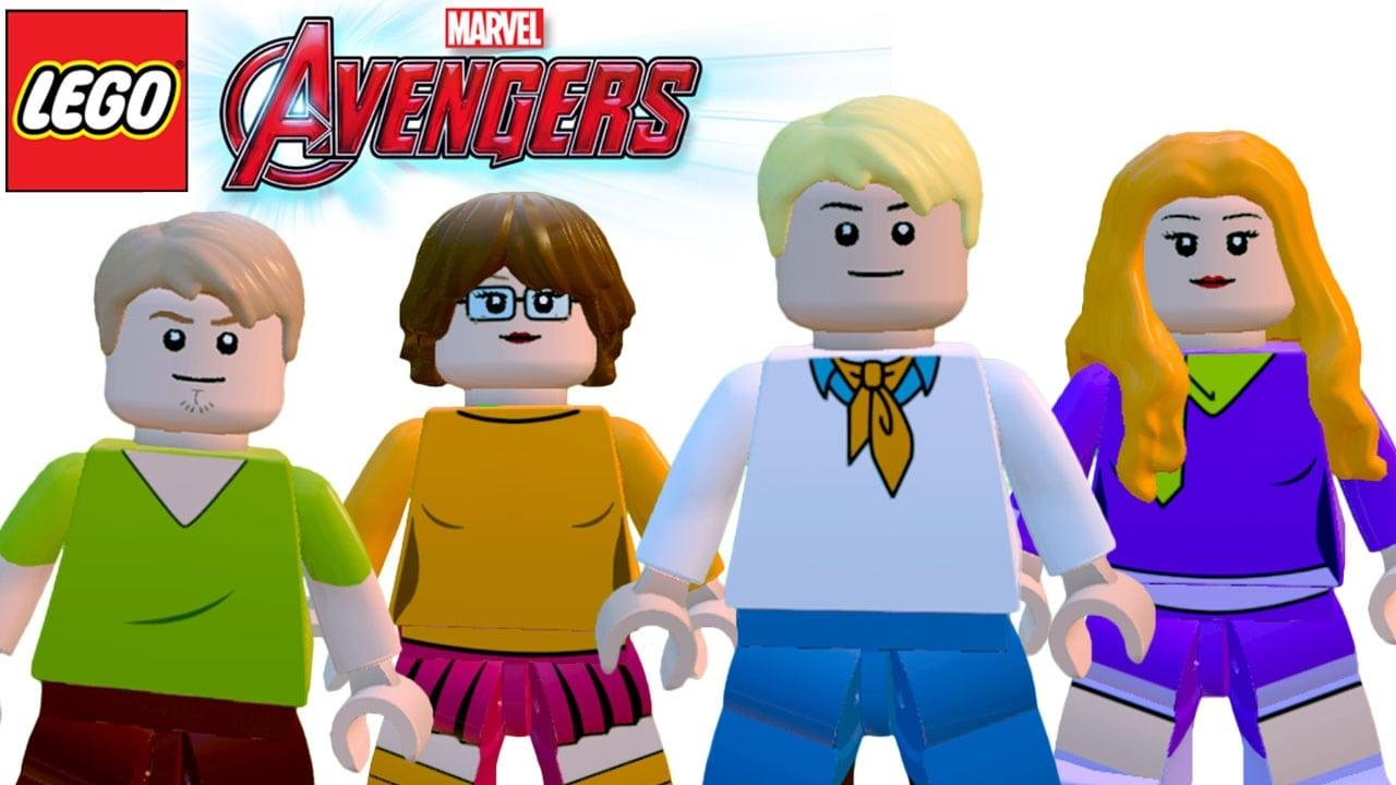 Lego Vingadores (avengers) Personagens Do Scooby Doo