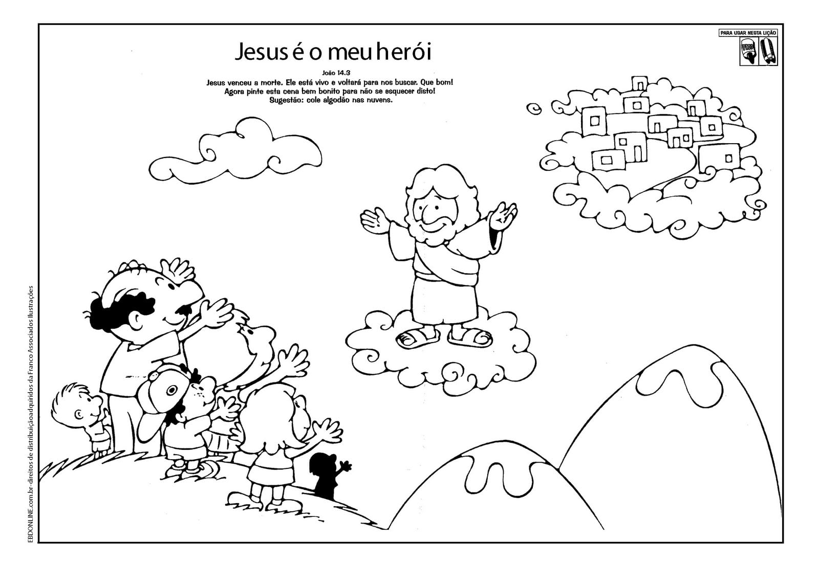 Evangeliza!  Atividades