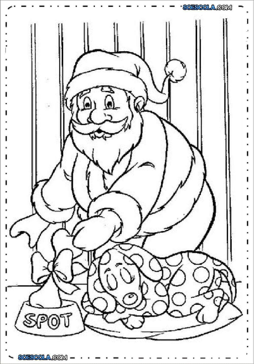 Noel Para Colorir E Imprimir