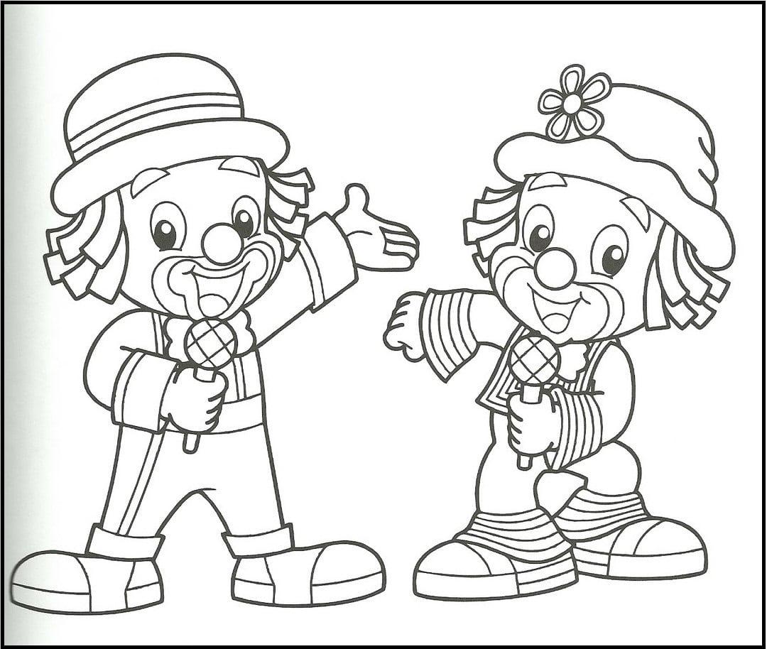 Jogo Desenhos Do Patati Patata Para Colorir E Imprimir